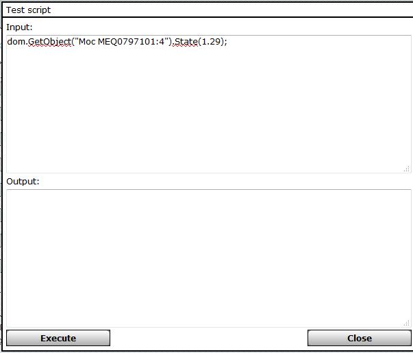 """Zapis wartości zmiennej """"Moc"""" do CCU2."""